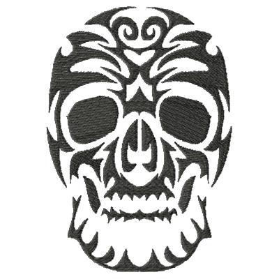 Tattoo Skull Single 6