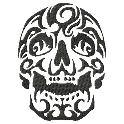 Tattoo Skull Single 7