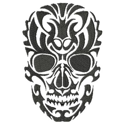 Tattoo Skull Single 8