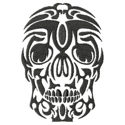 Tattoo Skull Single 9