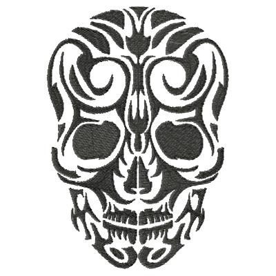 Tattoo Skull Single 10