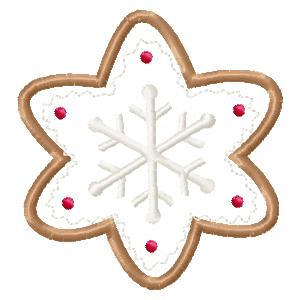 Christmas Cookies Applique