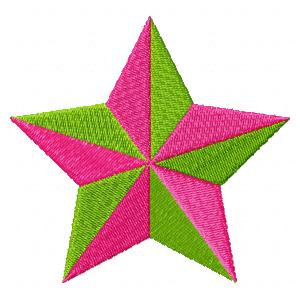 2 Color Star