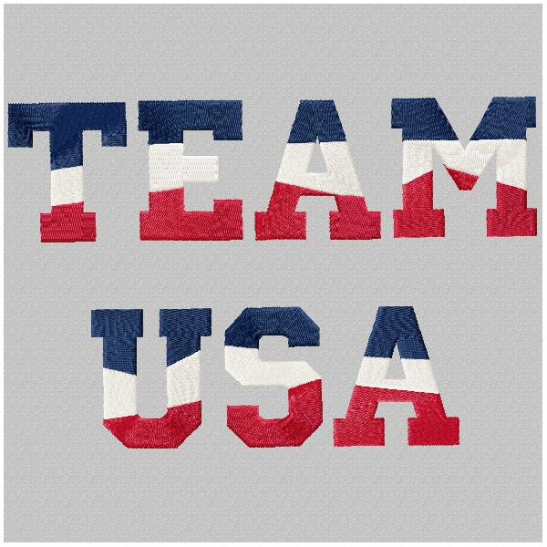Multi-Colored Team USA