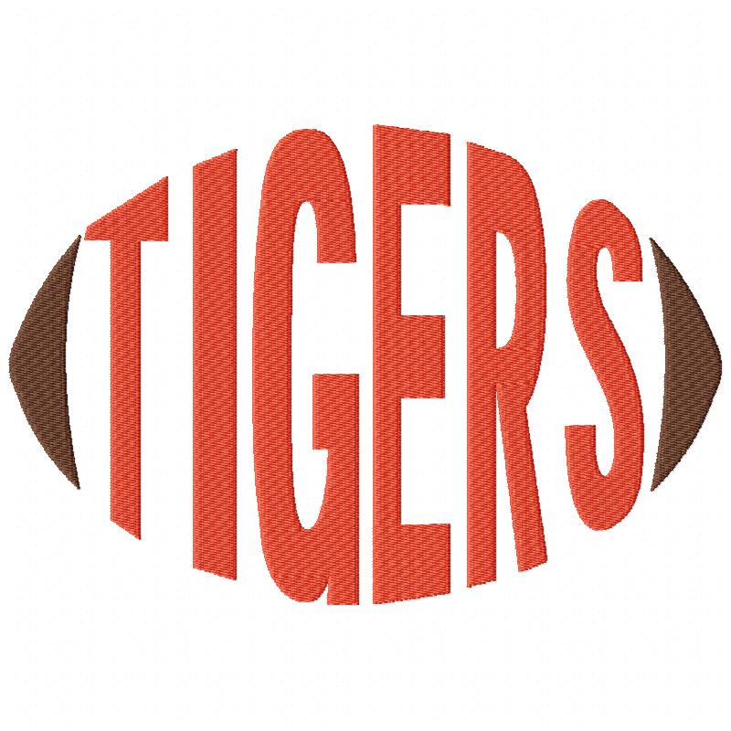 Tiger Football Word