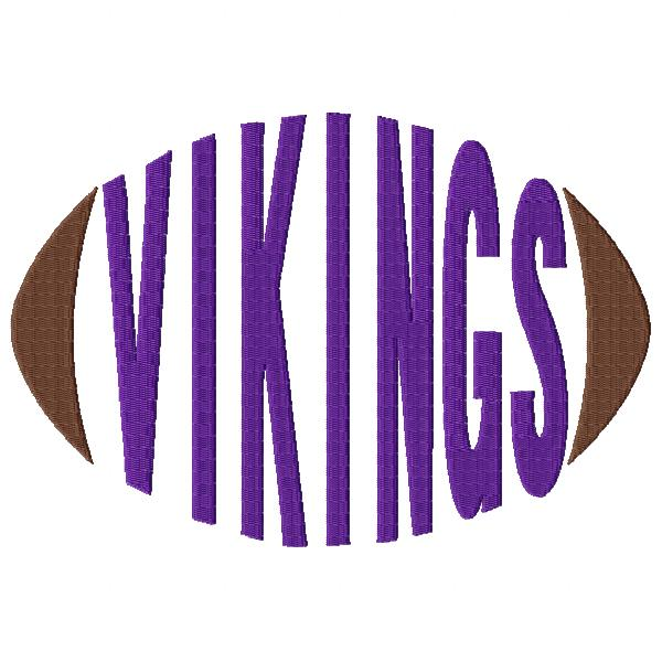 Vikings Football Word