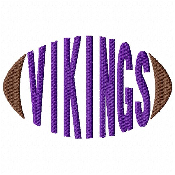 Vikings Football - Cap Size
