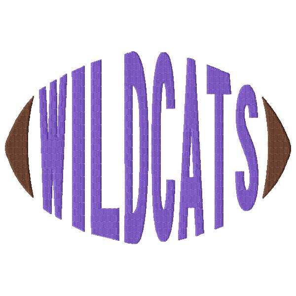 Wildcats Football Word