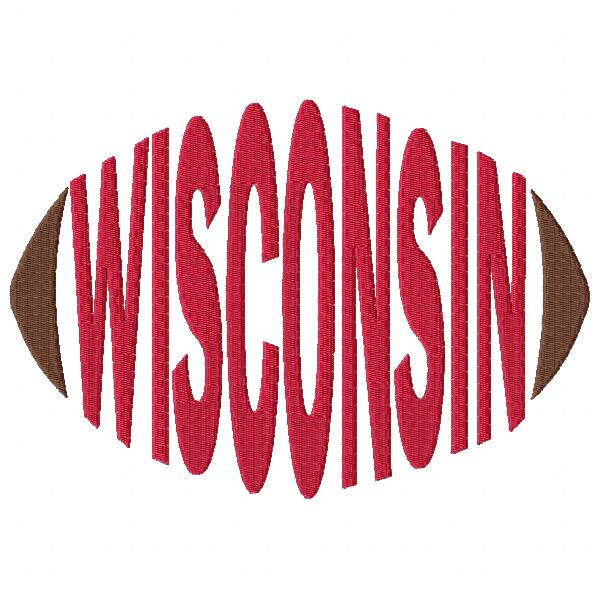 Wisconsin Football Word