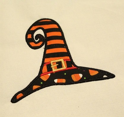 Witch Hat Applique