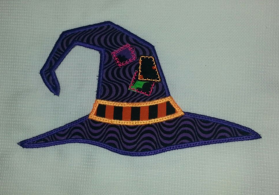 Witch Hat Applique 1